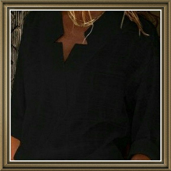 Tops - 2 for $40 Black Tunic